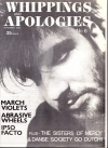 Whippings and Apologies zine 1983 - cover