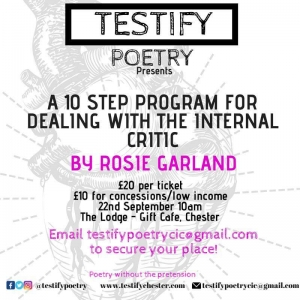 Testify Poetry - Workshop