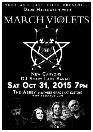 The March Violets - The Abbey