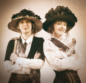 The Time-Travelling Suffragettes