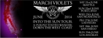 The March Violets - Into The Sun