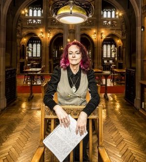 Writer-in-residence at The John Rylands Library, Manchester - 2019