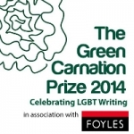 10.10.2014 - 'Vixen' longlisted for the Green Carnation prize 2014