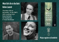 12.11.2020 - 'What Girls Do in the Dark' launch event – ONLINE
