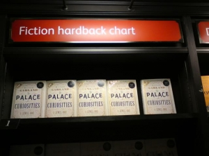 TPOC tops Waterstones hardback fiction chart